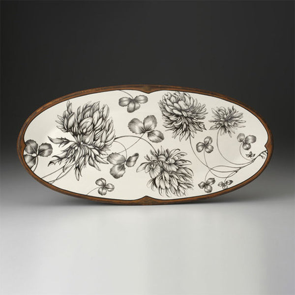 NEW! Clover Fish Platter by Laura Zindel