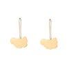 NEW! Metal Cloud Earrings in 14k Gold Vermeil by Lisa Crowder