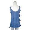 NEW! Flora Top in Indigo by Pico Vela