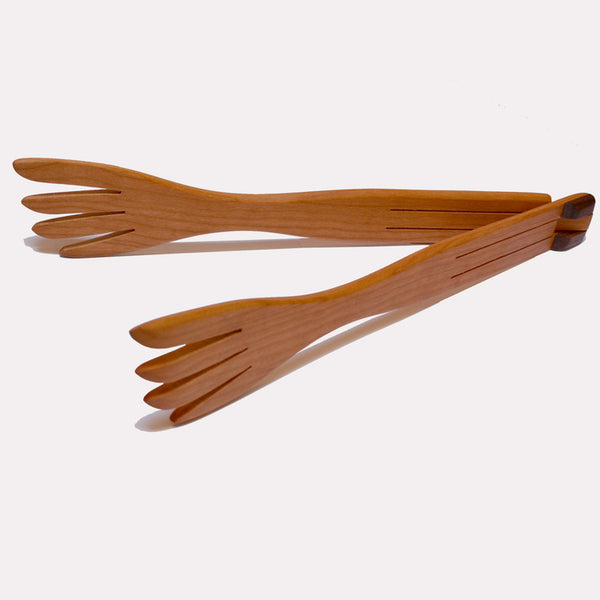 Inside-Out Tongs with Forks by Jonathan's Spoons