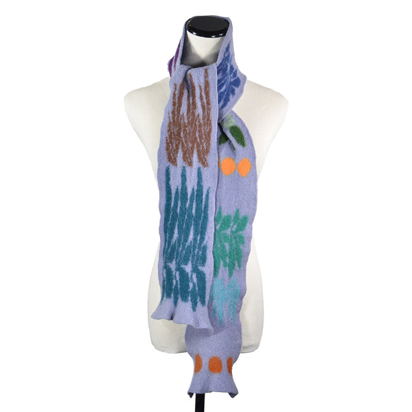 SALE! Garden Scarf in Multicolor by Jeung-Hwa Park Textiles