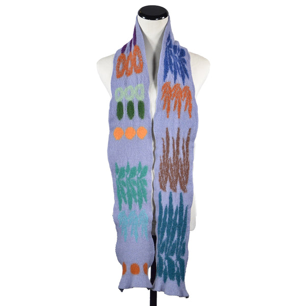 NEW! Garden Scarf in Multicolor by Jeung-Hwa Park Textiles