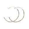 NEW! Gold Dust Hoop Earrings by Kate Maller