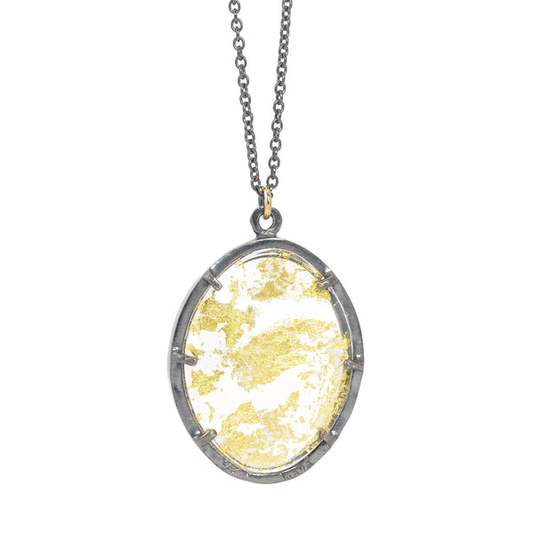 NEW! Gold Memento Necklace by Luana Coone