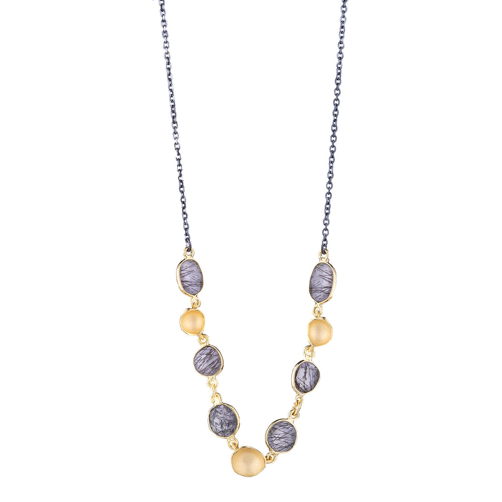NEW! Stone Stream Necklace by Sarah Richardson