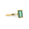 NEW! OOAK 14k Yellow Gold and Green Tourmaline Ring by Shaesby