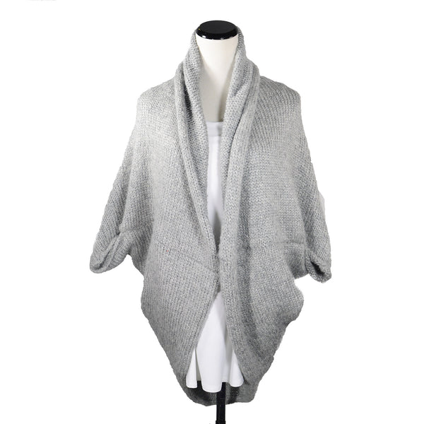Jonesey Cardi in Heather Grey by Isobel & Cleo