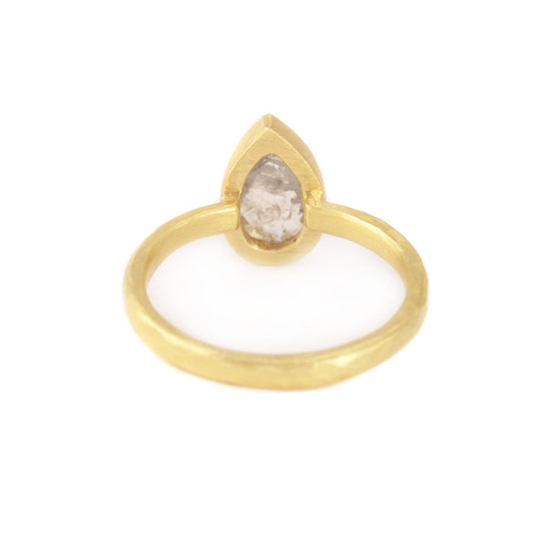 NEW! Grey Diamond Ring by Yasuko Azuma