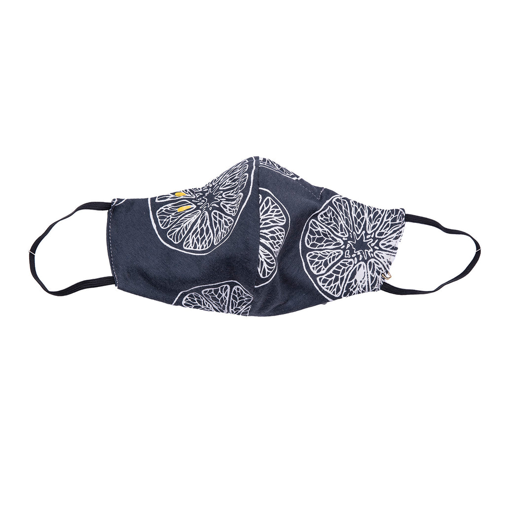 NEW! Umsteigen Bamboo Mask in Grey Lemon