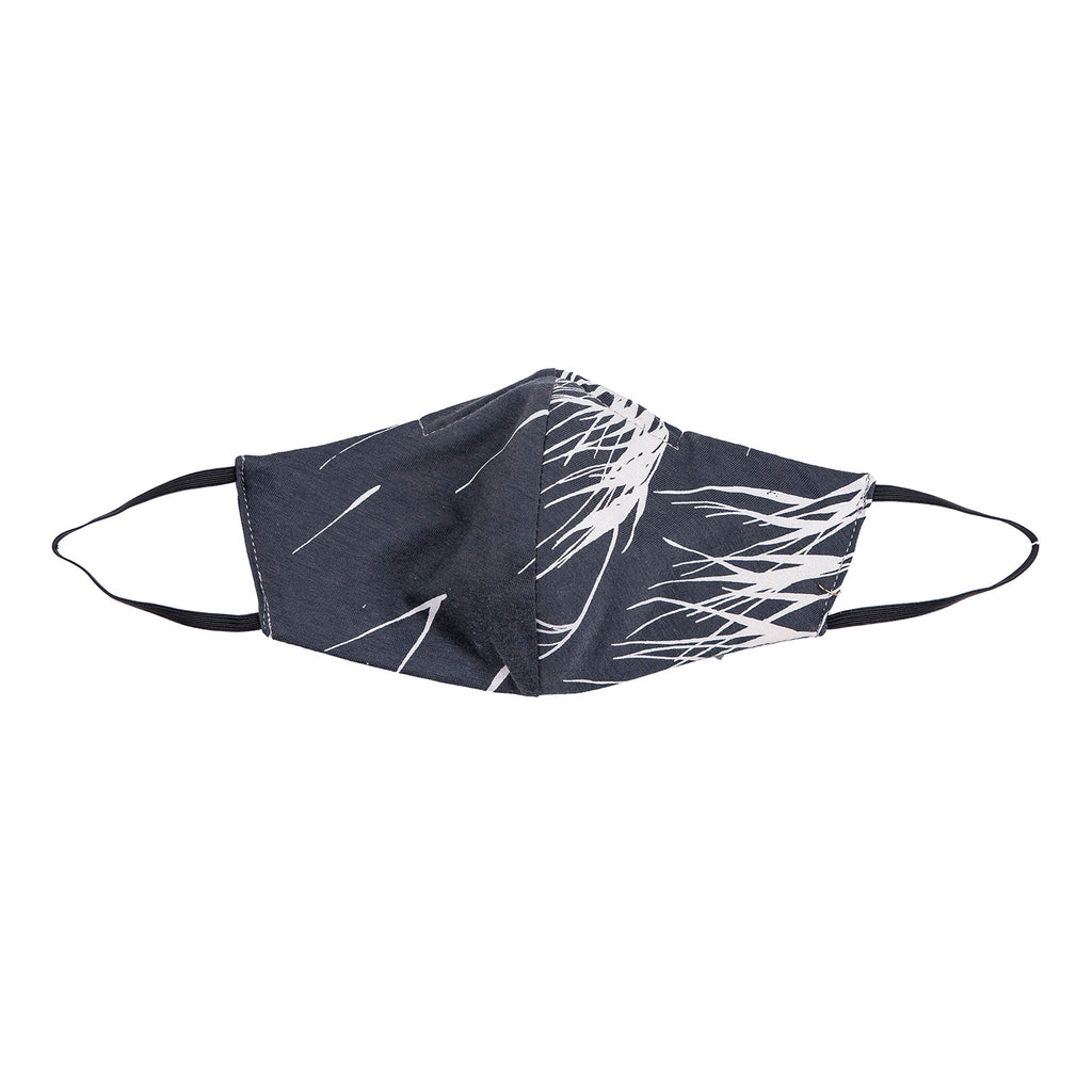 NEW! Umsteigen Bamboo Mask in Grey Lines