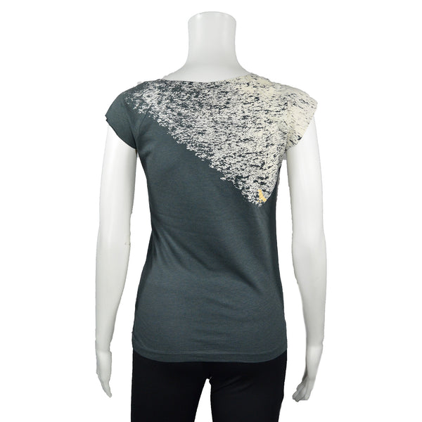 Grey Noise T-Shirt by Umsteigen