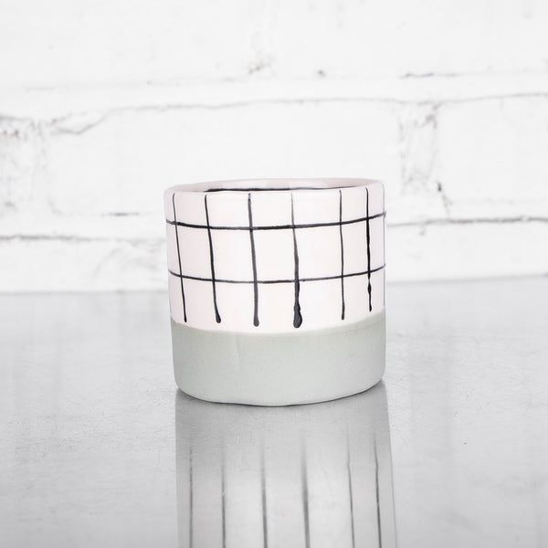 NEW! Grid Whiskey Cup by Elizabeth Benotti