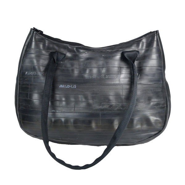 Black Shoulder Bag by Alchemy Goods
