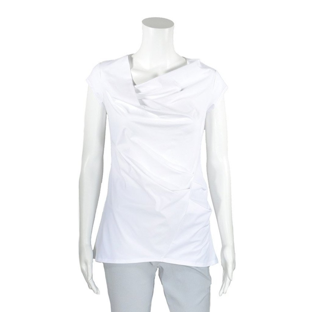NEW! Harmony Top in White by Porto