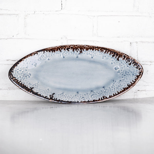 NEW! Medium Oval Tray in Hurricane by Alice Goldsmith
