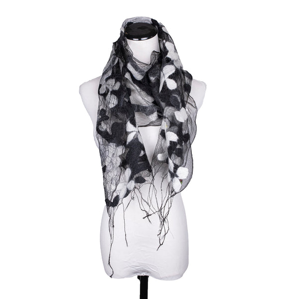 NEW! Illusion Scarf in Cherry Blossoms by B. Felt