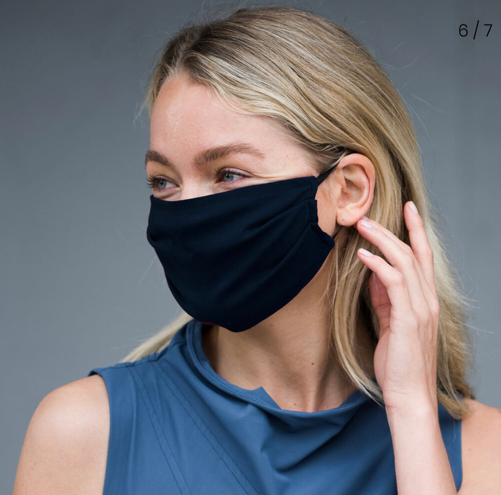 NEW! Porto Cotton Mask in Navy