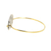 NEW! Isla Oval Bangle by Shaesby