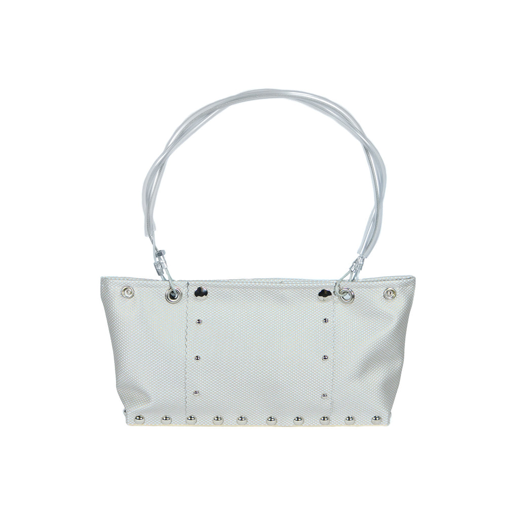 Shorty Bag in Argyle Silver by Hardwear by Renee