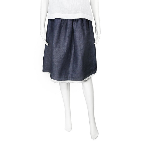 SALE! Ivy Skirt in Indigo by Veronique