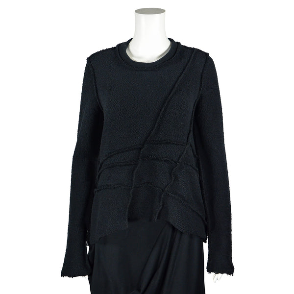 SALE! Joey Pullover in Black by Veronique