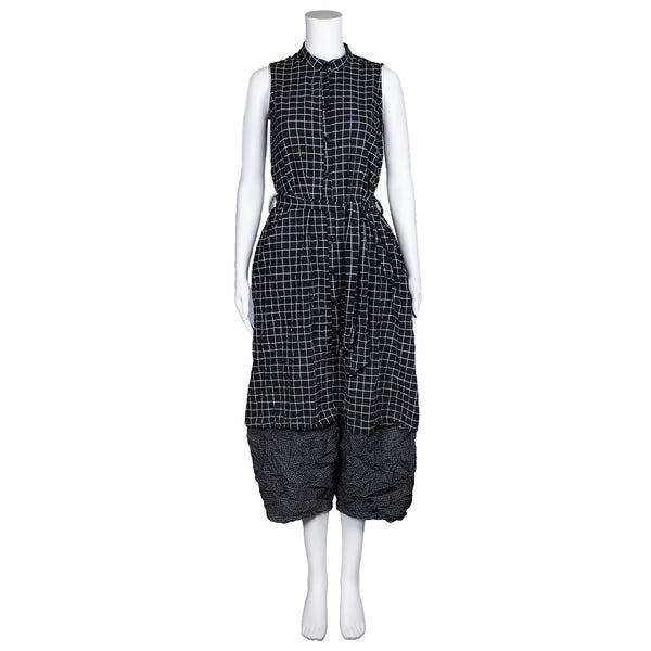 NEW! Big Plaid Jumpsuit by AMMA Kedem Sasson