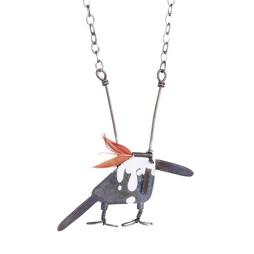 NEW! King Fisher Necklace by Gabrielle Gould