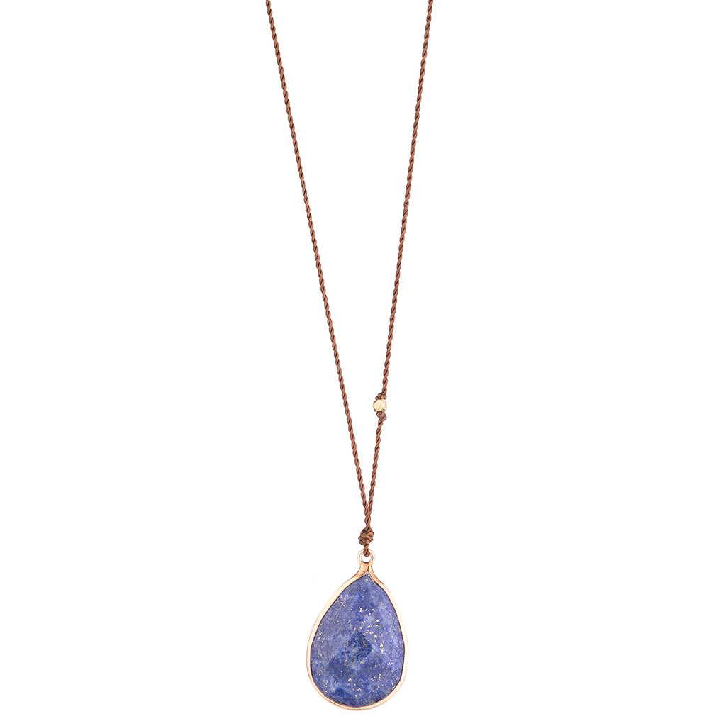 NEW! Lapis Necklace with 14k Gold by Margaret Solow