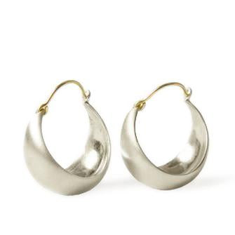 NEW! Large Half Moon Earrings by Carla Caruso