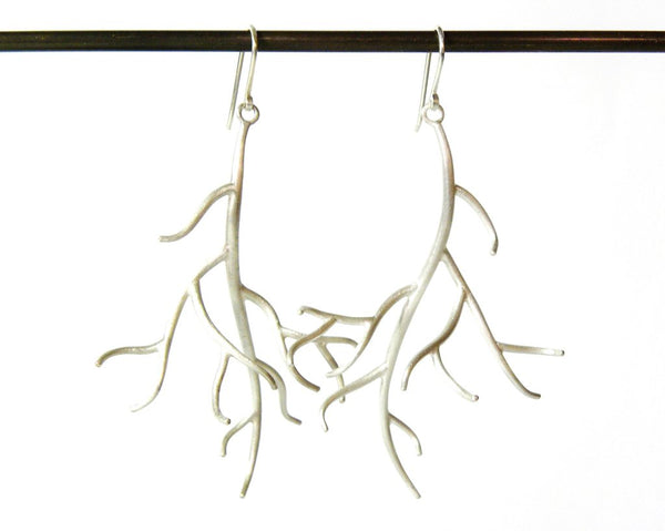 Large Branch Earrings by Hannah Blount