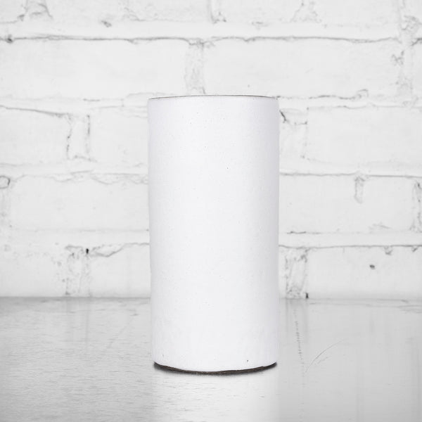 NEW! Tall White Cylinder by Tracie Hervy