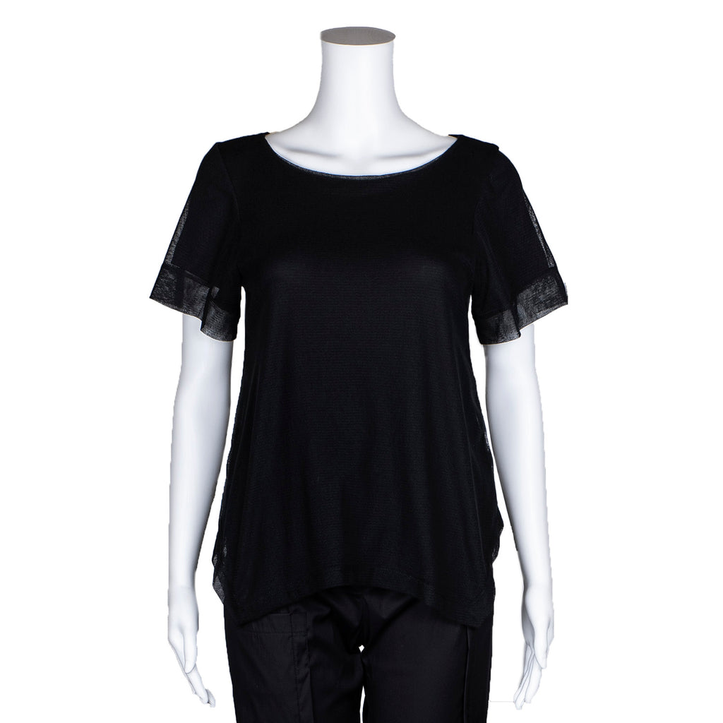 NEW! Larkspur Top in Black by Porto