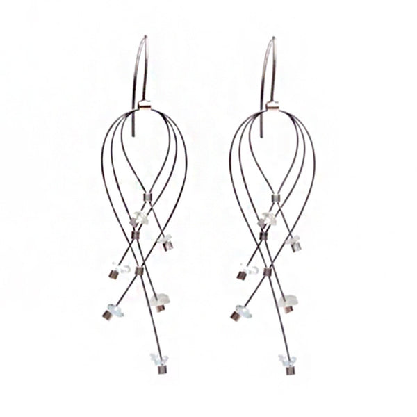 NEW! Lattice Earrings by Meghan Patrice Riley