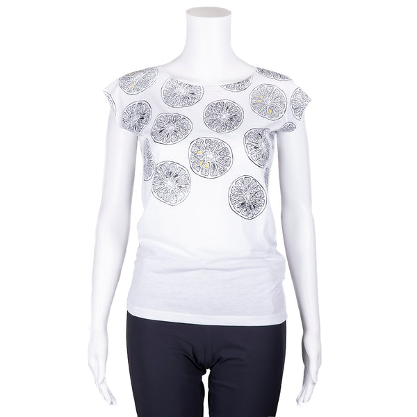 NEW! White Citrus T-Shirt by Umsteigen