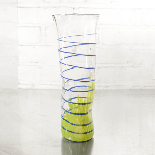 NEW! Wavie Ware Carafes in Multiple Colors by Peàn Doubulyu Glass