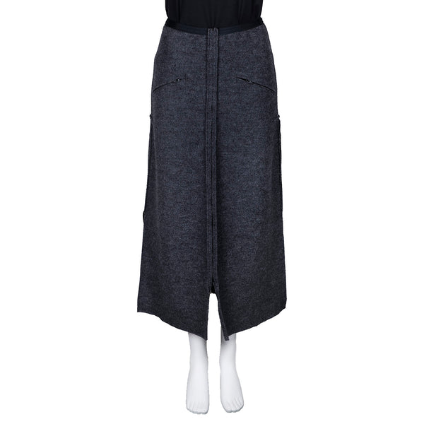 NEW! Overpant Zipper Skirt in Grey by Vilma Marė