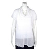 NEW! Mara Cowlneck Top in White by Pico Vela