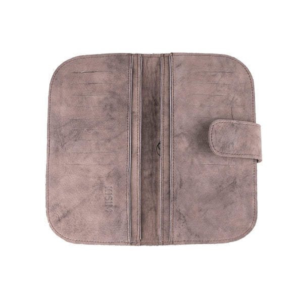 NEW! Mary Wallet in Washed Brown by Kisim