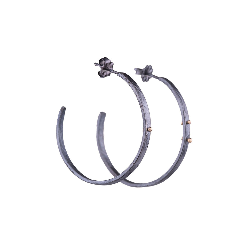 NEW! Medium Cabrillo Hoop Earrings by Luana Coonen