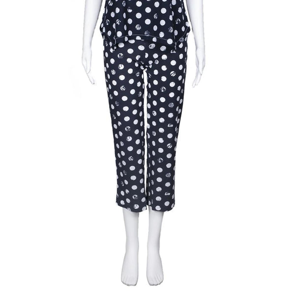 SALE! Traveler Crop Pant in Shadow Edo Dot Print by Porto