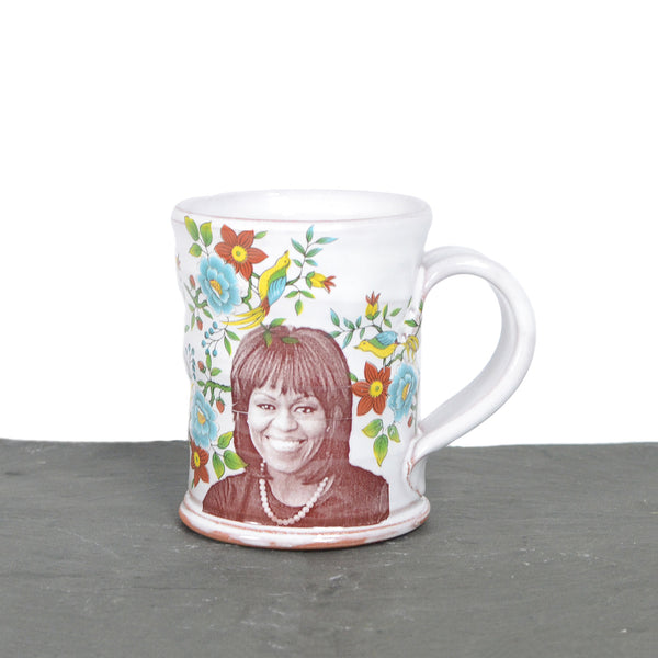 Michelle Obama Mug by Justin Rothshank