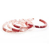 Bangle by DConstruct - Fire Opal - 1
