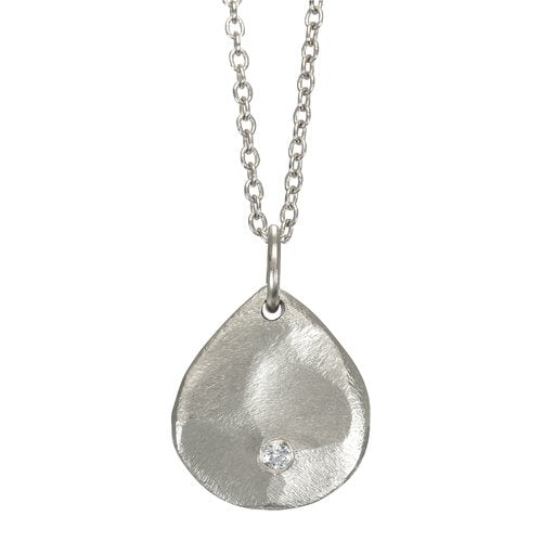 NEW! Mini Diamond Scale Necklace by Sarah Swell