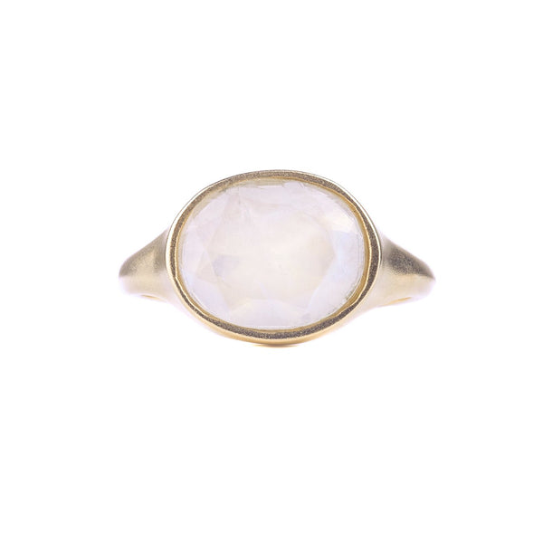 NEW! OOAK 14k Gold Moonstone Ring by Shaesby