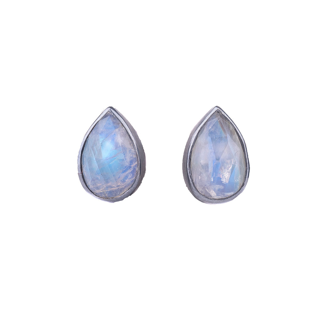 NEW! Moonstone Studs by Thea Izzi