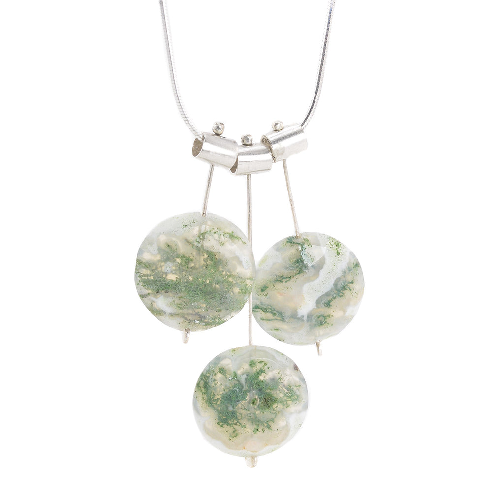 kiss moss gabriella agate jewelry necklace pin pinterest