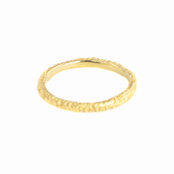14k Gold Moss Dome Ring by Branch
