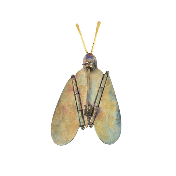 NEW! Banded Moth Pin by Gabrielle Gould