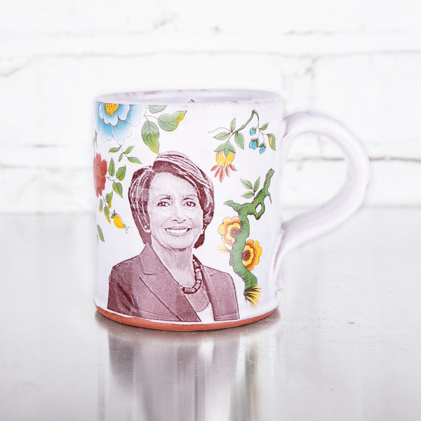 NEW! Nancy Pelosi Mug by Justin Rothshank