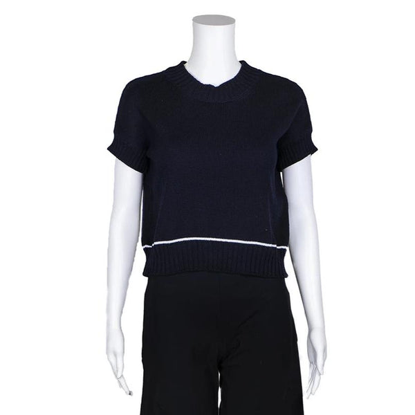 SALE! Sweater Tee in Navy by MJ Watson